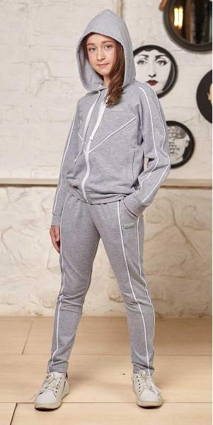 Спортивний костюм «ОМЕГА» сірий меланж р. 122-140