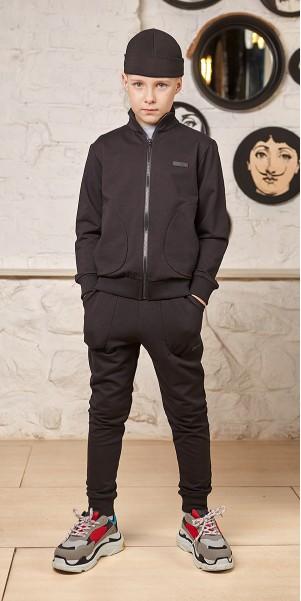 Спортивний костюм «СІГМА» чорний р. 122-140